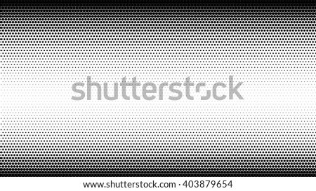 Abstract halftone dots background in gray colors - stock vector
