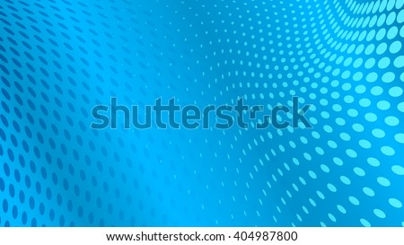 Abstract halftone dots background in light blue colors - stock vector
