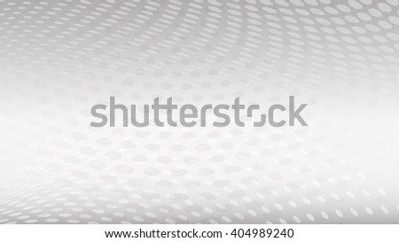 Abstract halftone dots background in white colors - stock vector