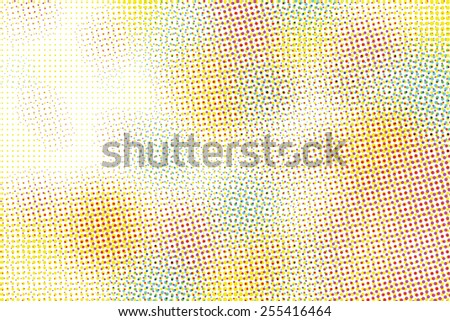 Abstract halftone graphic background vector - stock vector