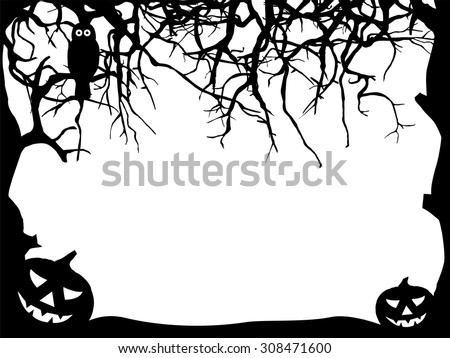 Pumpkin silhouette stock images royalty free images for Spooky owl pumpkin stencil