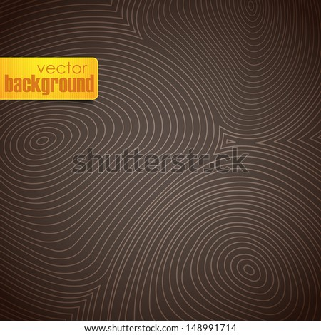 abstract hand drawn pattern - stock vector