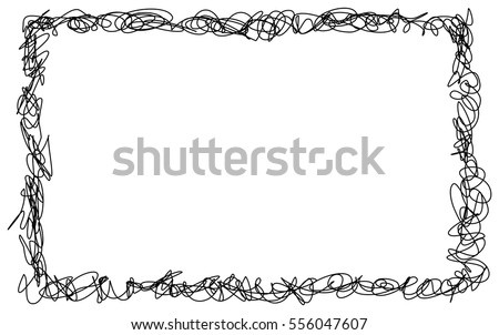 Vector Hand Drawn Paint Brush Coloring Page