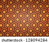 abstract hexagon background. Vector illustration - stock vector