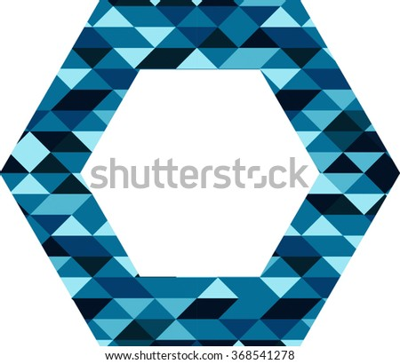 Abstract Hexagon Logo Design . Modern Icon. Vector. - stock vector