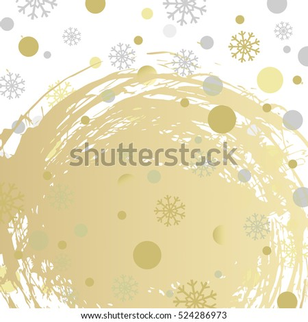 abstract holiday christmas background with snowflakes, winter texture pattern for greeting card, poster, web, banner design,  vector illustration eps10
