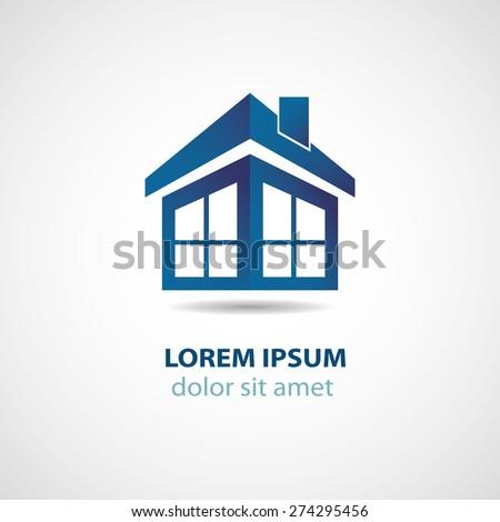 Abstract House Logo Design