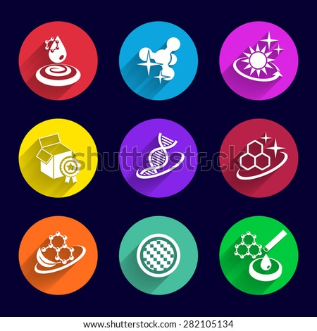 Abstract icon template for logo and identity business. Vector element - stock vector