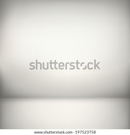 abstract illustration background texture of sepia wall, flat floor in empty room. - stock vector