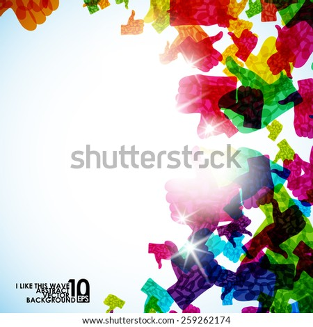 abstract illustration, eps10 - stock vector