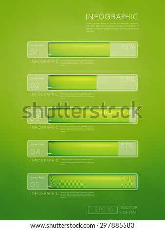 Abstract illustration Infographic - Vector illustration for workflow layout, diagram, number options, web design.