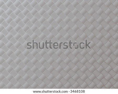 Abstract illustration of anti slip metal surface