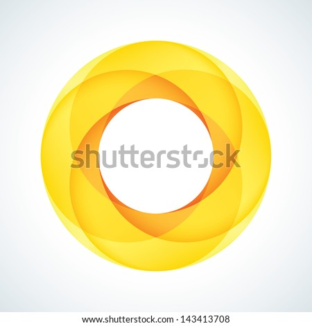 Abstract Infinite Loop Sign. Corporate Icon - stock vector