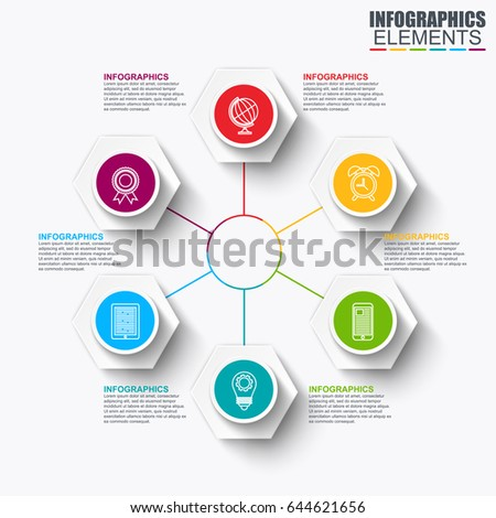 Abstract infographic data visualization vector design stock vector abstract infographic data visualization vector design template can be used for steps options publicscrutiny Choice Image