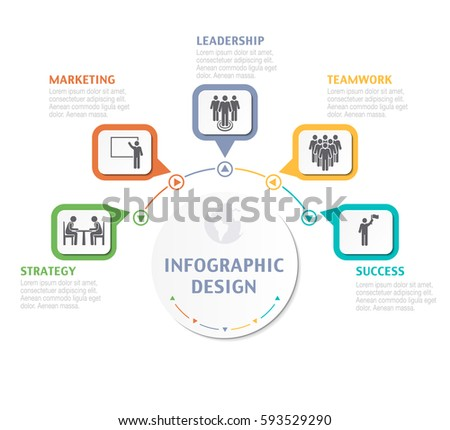 Abstract infographic number options business overview stock vector abstract infographic number options business overview visualization business template for presentation vector infographics wajeb Choice Image