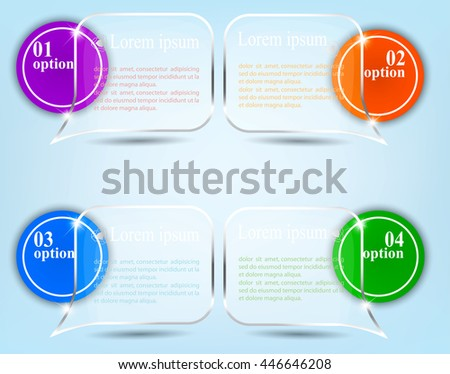 Abstract Infographics  - stock vector