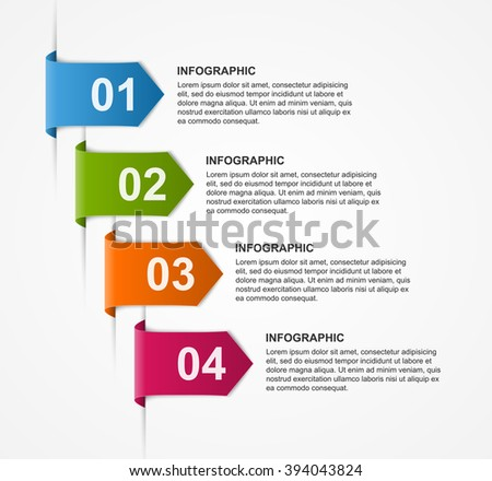 Abstract infographics design template. Vector illustration.