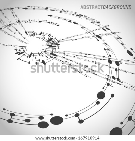 Abstract intersecting background. Vector eps10 - stock vector