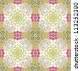 Abstract kaleidoscope background . Vector illustration . - stock vector