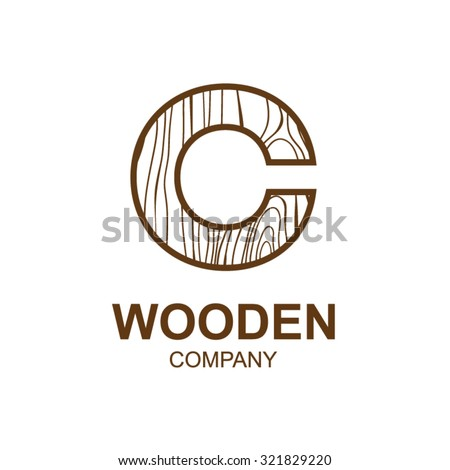 Abstract Letter C Logo Design Template Stock Vector (Royalty Free ...