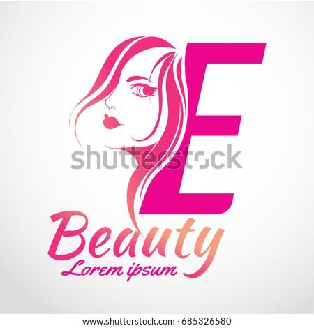 Abstract letter e logo beauty salon stock vector 685326580 abstract letter e logo beauty salon vector logo template altavistaventures Images