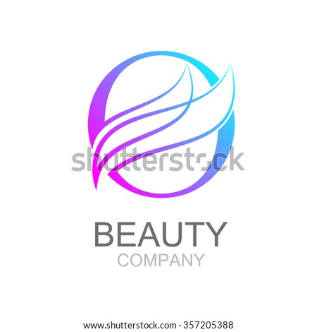 Abstract letter O logo design template with beauty industry and fashion logo.cosmetics business, natural,spa salons. yoga, medicine companies and clinics - stock vector