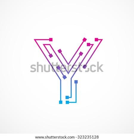Letter Y Stock V...Y Letter Design