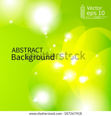 Abstract Light background. EPS10 vector illustration.