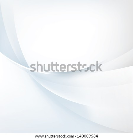 Abstract light background, vector blue illustration - stock vector