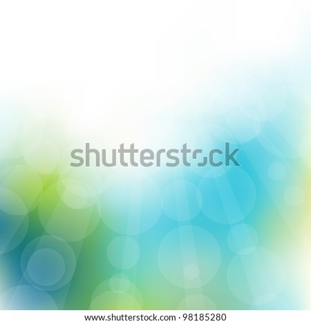 abstract light background. Vector illustration - stock vector