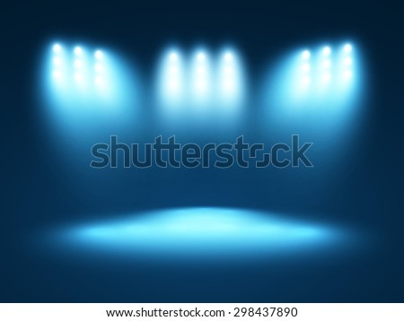 Abstract light blue background - stock vector