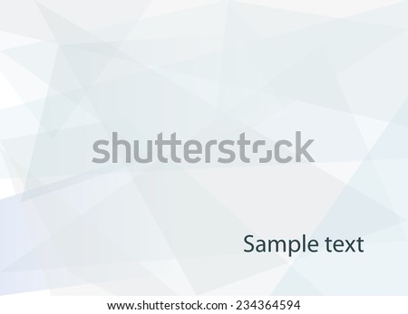 Abstract light blue geometric background - stock vector