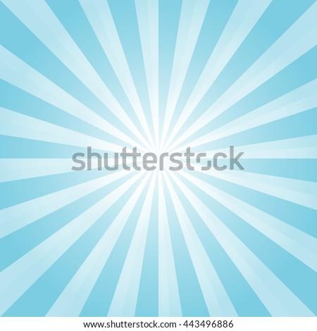 Blue Rays Poster. Popular Ray Star Vector &amp- Photo | Bigstock