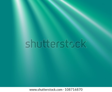 Abstract Light Bursts - stock vector