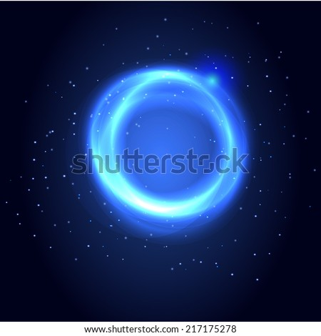 Abstract light circles background. Vector. Vector illustration.