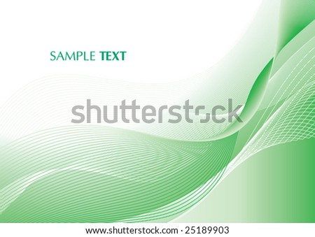 Abstract light green card