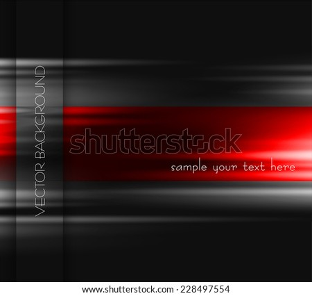 Abstract light lines background - stock vector