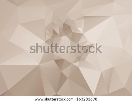 Abstract light polygonal vector background. Eps 10.  - stock vector