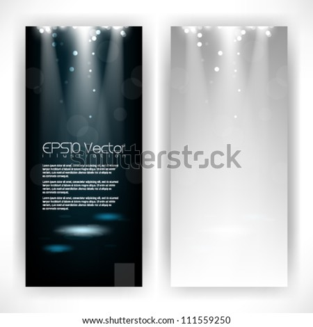 abstract light rays isolation background illustration. eps10 vector format
