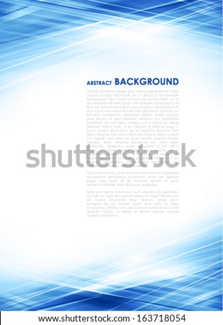 Abstract light techno background. Vector - stock vector