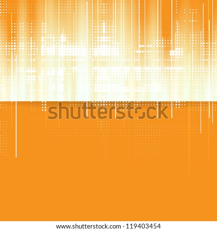 Abstract light technology dynamic background - stock vector