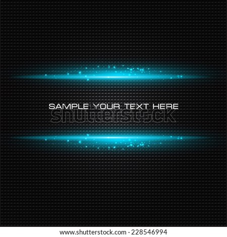 Abstract light  template background - stock vector