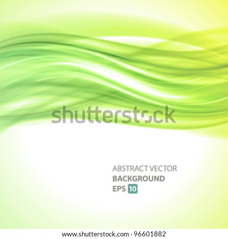 Abstract light vector background. Eps 10. - stock vector