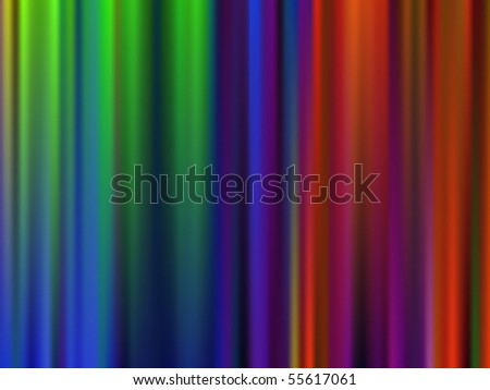Abstract Lightning Color Stripes - Spectrum Backgorund - stock vector