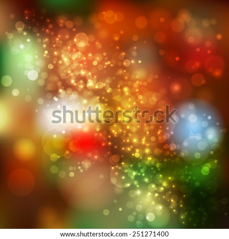 Abstract lights.Abstract colorful background - stock vector