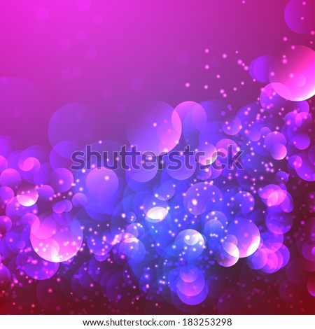 abstract lights, blurred  pattern background. - stock vector