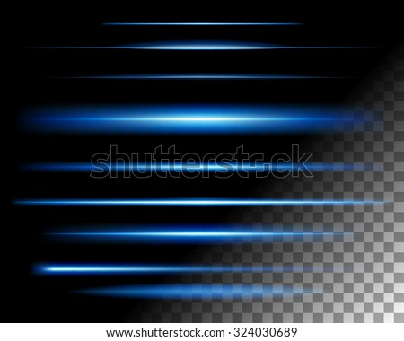 abstract blue light lines - photo #12
