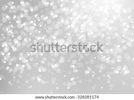 Abstract Lights on Grey Background, Vector Illustration