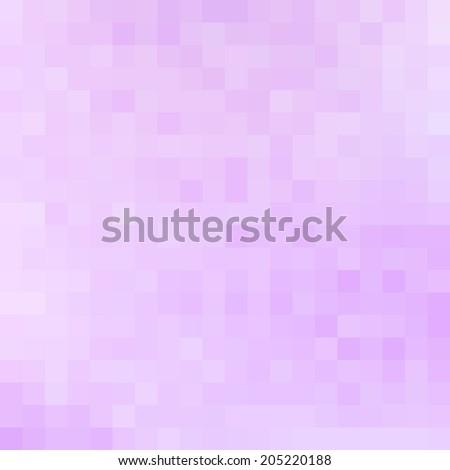 Abstract lilac and pink vector mosaic - stock vector