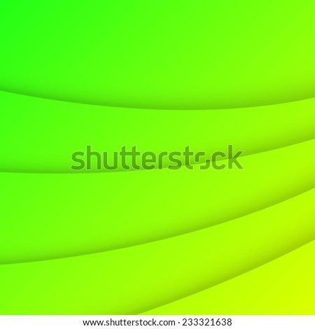 Abstract lime and yellow color background - stock vector